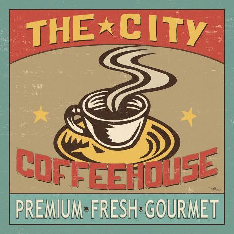 Coffeehouse I Art Print