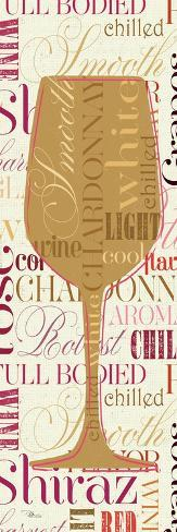 Colorful Wine Sayings Premium-giclée-vedos