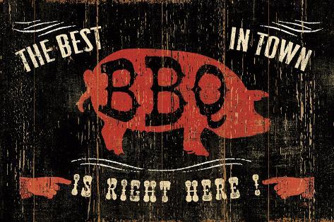 The Best BBQ in Town Taidevedos