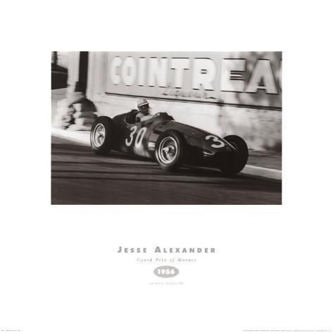 Grand Prix of Monaco 1956 Art Print