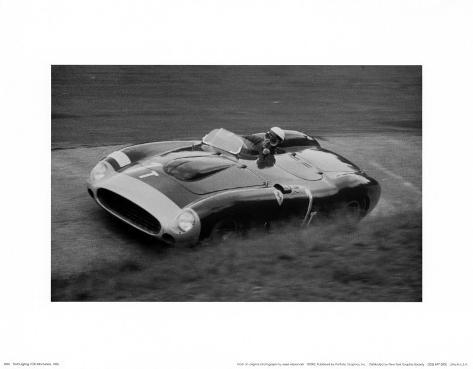 Nurburgring 1000 Kilometers, 1956 Art Print