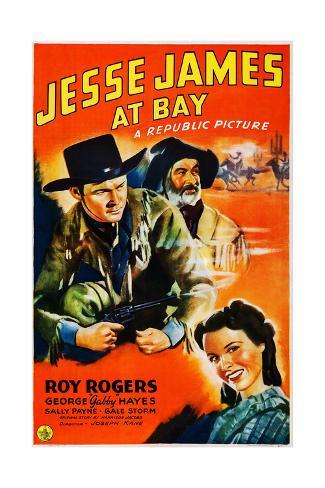 Jesse James en Bay Lámina