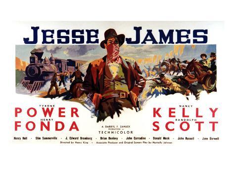 Jesse James, Tyrone Power As Jesse James, 1939 写真