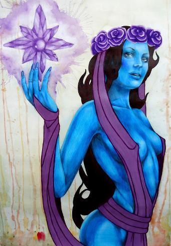Azura Stretched Canvas Print