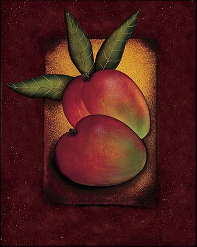 Tropical Fruit - Mango Art Print