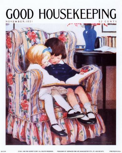 Good Housekeeping, November 1921 Art Print