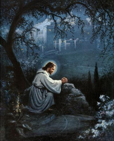 jesus agony in the garden art poster print - Agony In The Garden