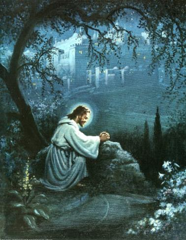 Jesus (Agony in the Garden) Mini Poster
