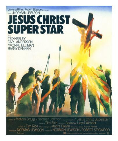 Jesus Cristo Superstar Impressão artística emoldurada