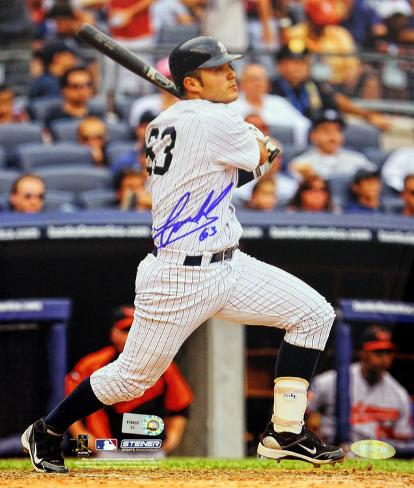 Jesus Montero Second Career Homerun Autographed Photo (Hand Signed Collectable) Photo