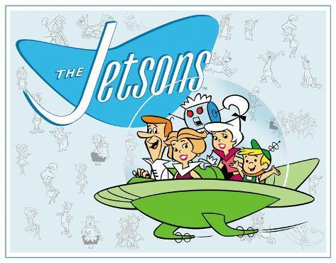 Jetson's Family Tin Sign