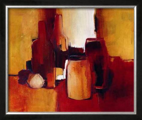 Cans and Bottles I Framed Art Print