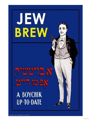 Jew Brew Beer Art Print