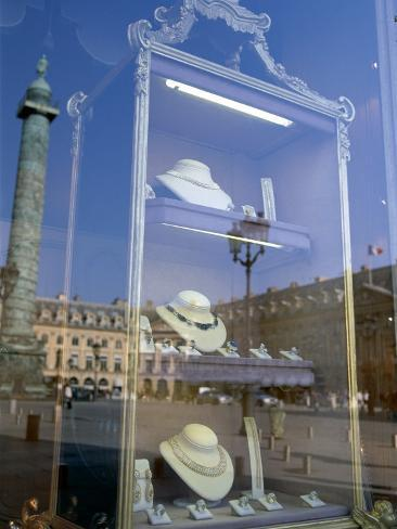 Jewelry Store, Place Vendome, Paris, France Photographic Print
