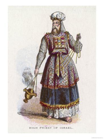 Jewish High Priest in His Ceremonial Garb Giclee Print