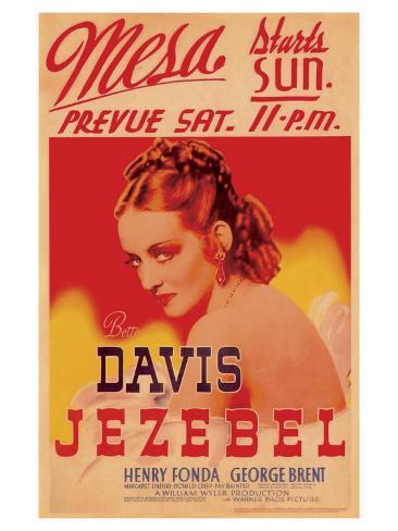 Jezebel, 1938 Art Print