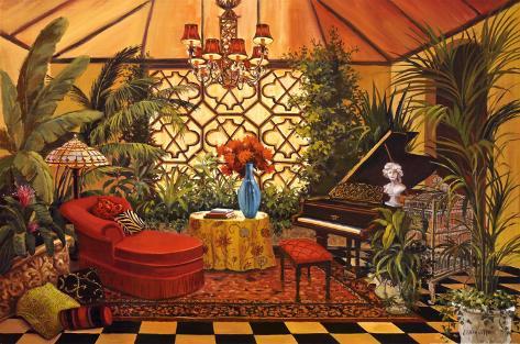 Conservatory I Art Print