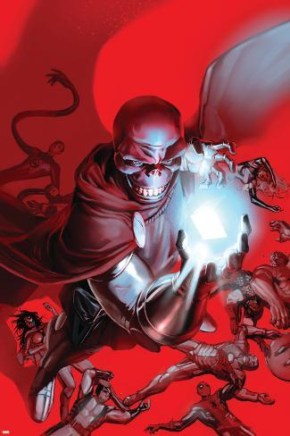 What If? House Of M No.1 Cover: Red Skull Poster