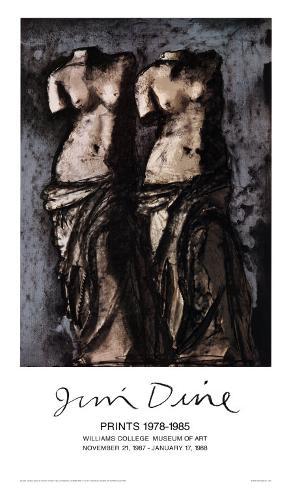 Double Venus in the Sky at Night Art Print