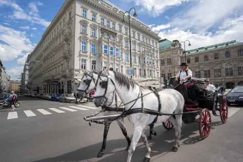 オールポスターズの ジム エンゲルブレヒト horse drawn carriage