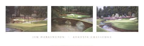 Augusta Challenge Art Print