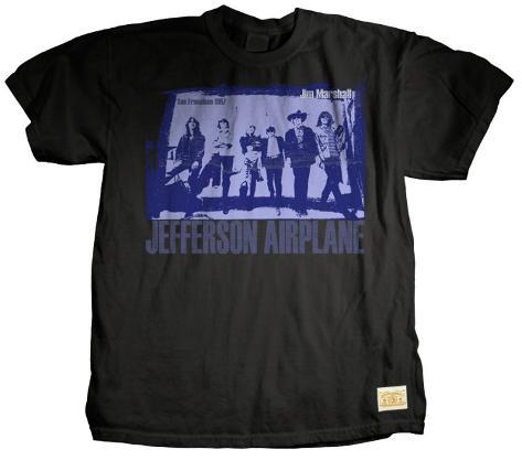 Jefferson Airplane - Chorus Line T-Shirt