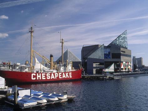 National Aquarium, Inner Harbor, Baltimore, MD Photographic Print