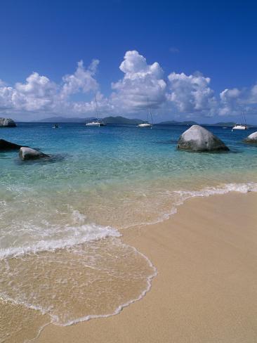 The Baths, Virgin Gorda, British Virgin Islands Photographic Print