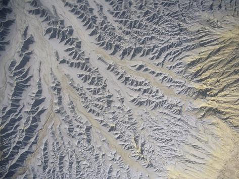 Erosion Surface, Wayne County, Ut Photographic Print
