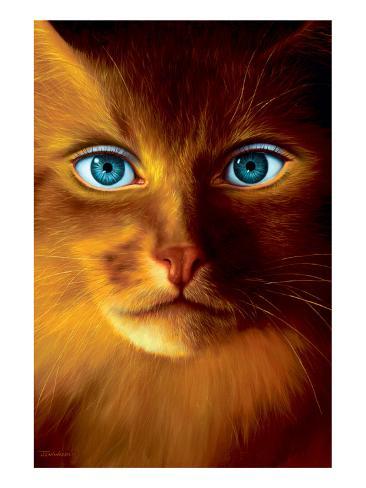 Cat Woman Premium Giclee Print