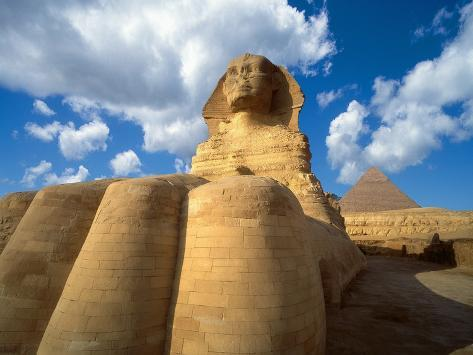 Base of the Great Sphinx Photographic Print