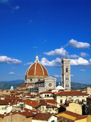 Santa Maria del Fiore in Florence Photographic Print