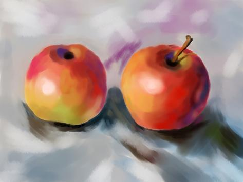 cg painting apple art by jim80 allposters ca