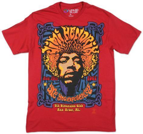 Jimi Hendrix- 5th Dimension T-Shirt