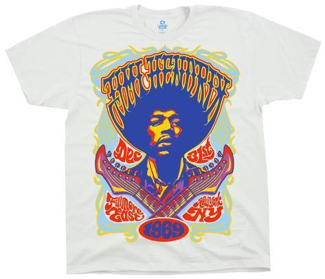 Jimi Hendrix- Hendrix Fillmore T-Shirt