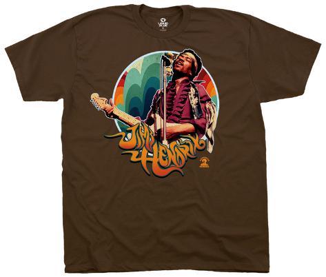 Jimi Hendrix- Hendrix Groove T-Shirt