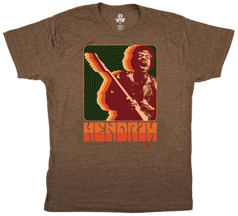 Jimi Hendrix- Retro Jimi T-Shirt