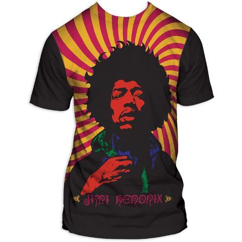 Jimi Hendrix - Swirl Poster T-Shirt