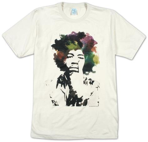 Jimi Hendrix - vesiväri T-paita