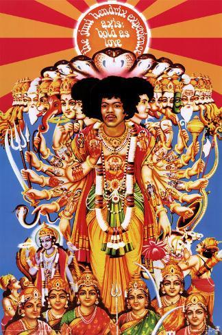 Jimi Hendrix Pôster