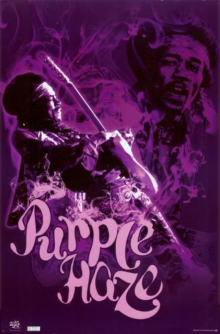 オールポスターズの jimmy hendrix purple haze 高画質プリント