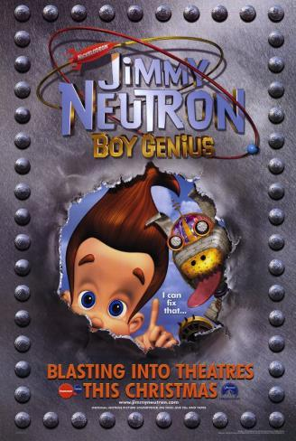 Jimmy Neutron: Boy Genius Masterprint