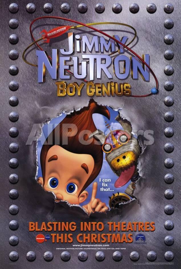 Jimmy Neutron: Boy Genius Masterprint - at AllPosters.com.au