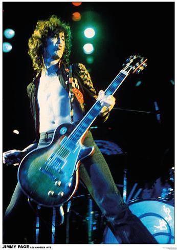 Jimmy Page - Led Zeppelin Poster