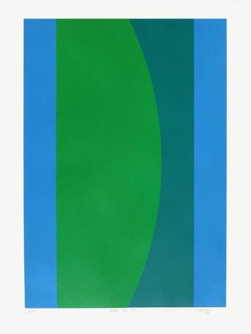 couleur bleu vert limited edition van jo delahaut bij. Black Bedroom Furniture Sets. Home Design Ideas