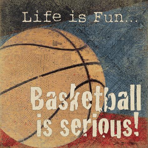 Basketball Art Print