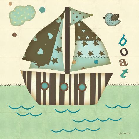 Boat East Art Print