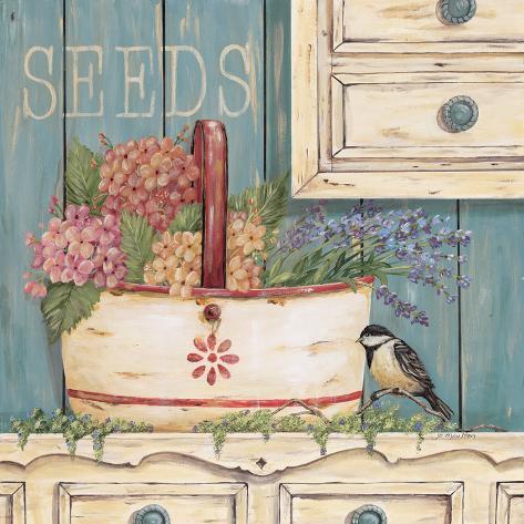Seeds Art Print