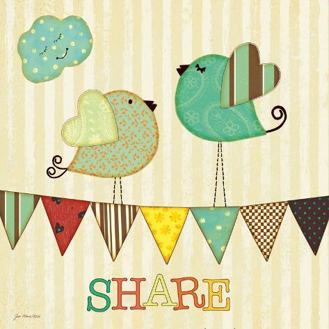 Share Art Print