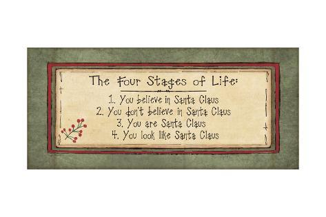 Stages of Life Art Print